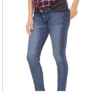 Current/Elliott Maternity Stiletto Jeans